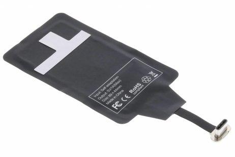 Qi Wireless Charging Receiver met USB-C aansluiting