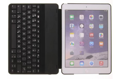 Decoded Zwarte Leather Keyboard Case voor de iPad Air 2