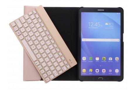 Rosé Gouden Bluetooth Keyboard Case voor de Samsung Galaxy Tab A 10.1 (2016)