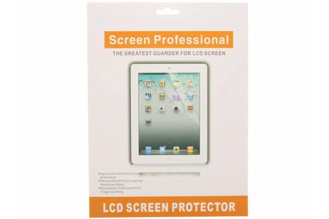 Anti-fingerprint screenprotector voor iPad 2 / 3 / 4