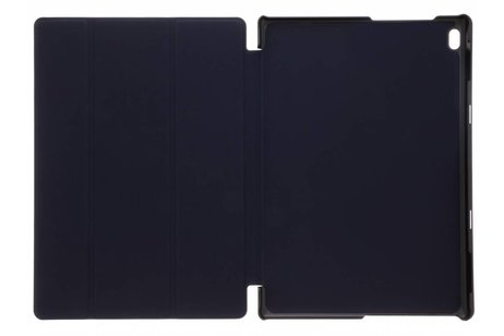 Lenovo Tab 4 10 inch hoesje - Blauwe stijlvolle book cover