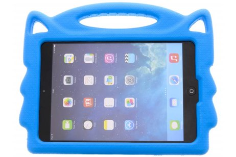 Blauwe Kids handvat tablethoes voor de iPad Mini / 2 / 3