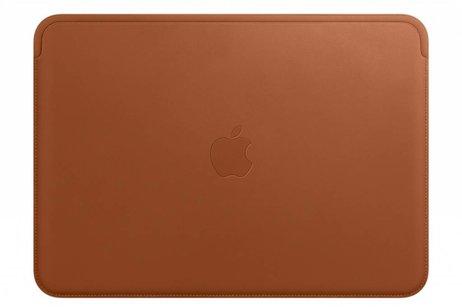 MacBook 12 inch hoesje - Apple Bruine Leather Sleeve