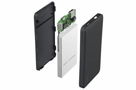 Belkin Zwarte Gouden Pocket Powerbank 5000 mAh + USB-C adapter