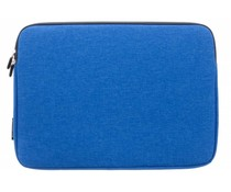 Gecko Covers Blauw Universal Zipper Laptop Sleeve 13 inch