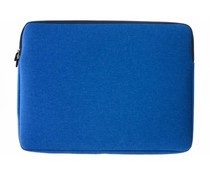 Gecko Covers Blauw Universal Zipper Laptop Sleeve 17 inch