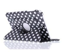 360º draaibare polka dot tablethoes Galaxy Tab A 7.0