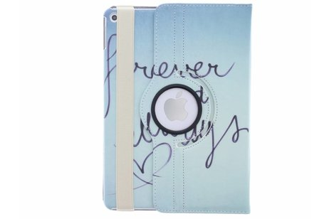 iPad Air 2 hoesje - 360° draaibare forever and