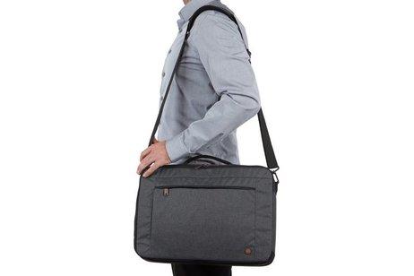 Case Logic Grijze Era 2-vaks Hybrid Briefcase 15.6 inch