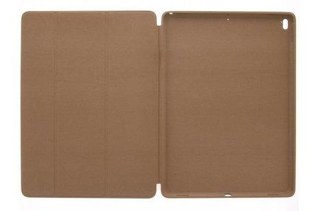 iPad Pro 12.9 (2017) hoesje - Bruine Luxe book cover