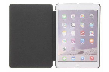 Zwarte stijlvolle book cover voor de iPad Mini / 2 / 3