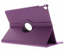 Paars 360° draaibare tablethoes iPad Pro 12.9 (2017)