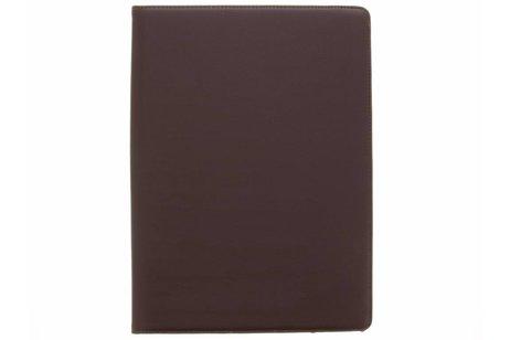 iPad Pro 12.9 (2017) hoesje - Bruine 360° draaibare tablethoes