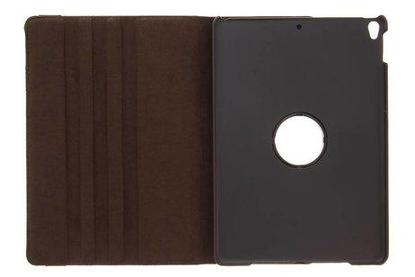 iPad Pro 10.5 hoesje - Bruine 360° draaibare tablethoes