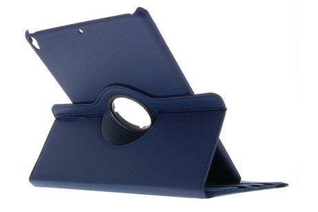 iPad Pro 10.5 hoesje - Blauwe 360° draaibare tablethoes