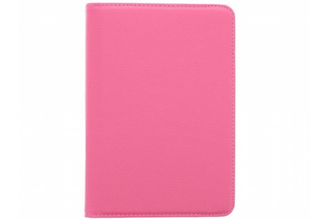 iPad Mini 4 hoesje - Fuchsia 360° draaibare tablethoes