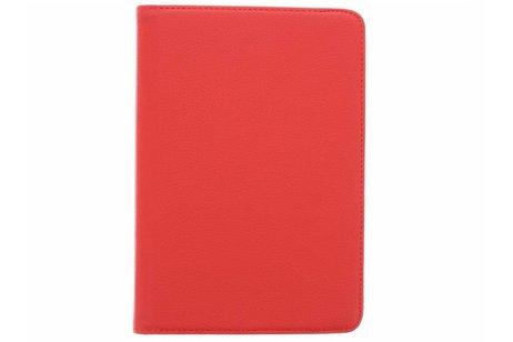 iPad Mini 4 hoesje - Rode 360° draaibare tablethoes