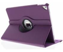 Paars 360° draaibare tablethoes iPad Pro 9.7