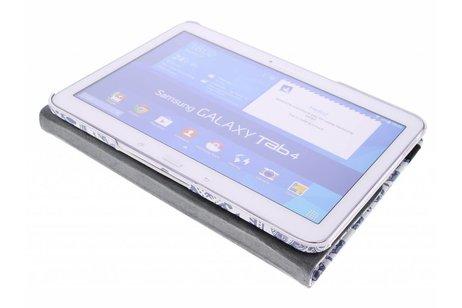 Samsung Galaxy Tab 4 10.1 hoesje - 360° draaibare olifanten design