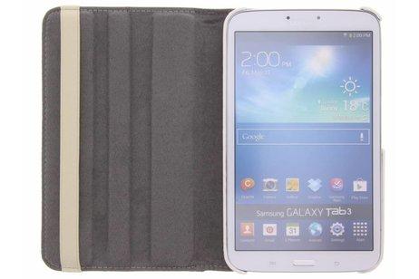 Samsung Galaxy Tab 3 8.0 hoesje - 360° draaibare spikkel design