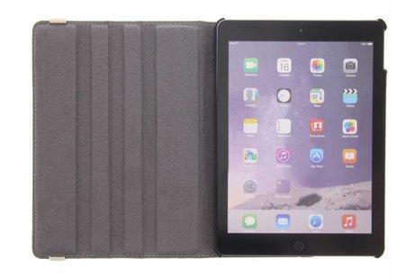iPad Air 2 hoesje - 360° draaibare koe design
