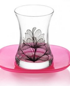 12 parçalı çay seti 'Lotus'