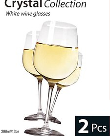 Cuisine Witte wijn glazen (set van 2)