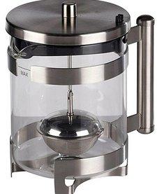 Roestvrijstalen theezetapparaat (1 liter)