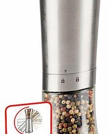 Roestvrijstalen automatische peper- en zoutmolen