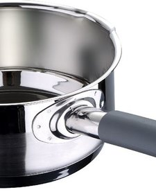 RVS 18/10 Steelpan 16 cm - 1.5 liter