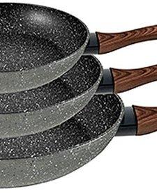Koekenpannen 20, 24, 28cm