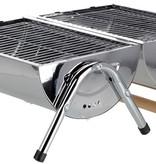 BBQ Cilinder Barbecue met dubbel grilloppervlak