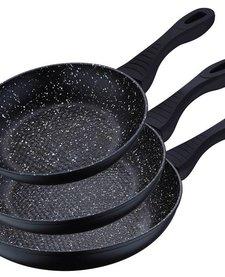 Koekenpannset (3 delig)