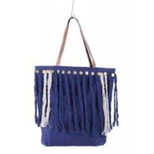 Imbarro Shopper Dalia blauw