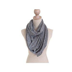 Sjaal col grijs