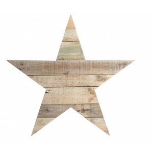 Indomus Houten -ster-teken sloophout small