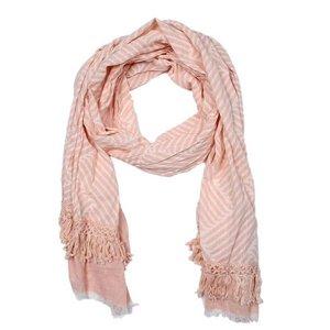 C&S Designs Sjaal roze -stripe-