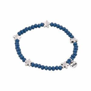 Biba Armband | blue silver star