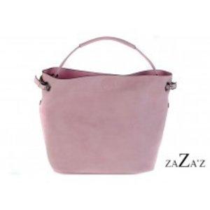 zaZa'z Bag in bag tas | roze