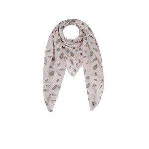 C&S Designs Sjaal veren roze