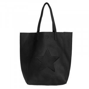 Yehwang Tas | Citybag Star | zwart