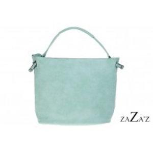 zaZa'z Bag in bag tas | mint groen
