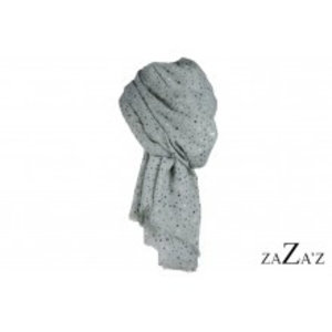 zaZa'z Sjaal sterren grijs