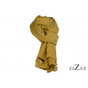 zaZa'z Sjaal dennenappel geel