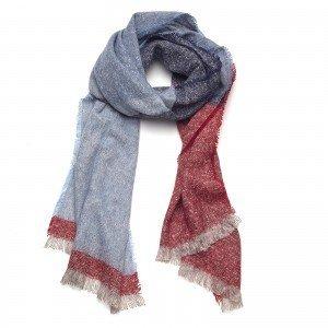 Biba Sjaal multicolor blauw/rood