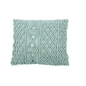 MrsBloom Cushion Sant Tomas old green