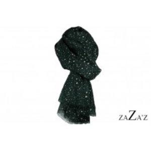 zaZa'z Sjaal sterren | groen
