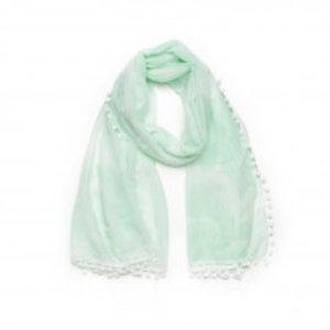 Biba Sjaal flower mint
