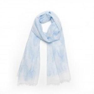 Biba Sjaal cactus blauw