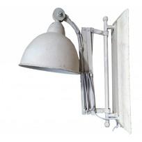 Uitrekbare metalen wandlamp - Whitewash